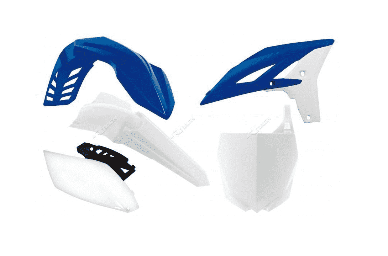 YAMAHA YZF 250 2010-2013 WHITE / BLUE