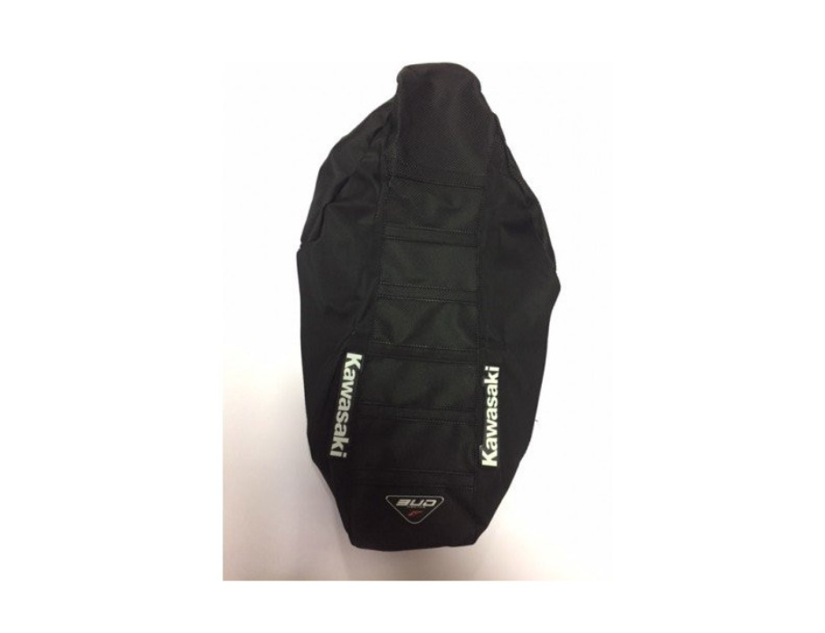 SEAT COVER BUDRACING KAWSAKI KX 85 14-18 BLACK/LOGO KAWASAKI