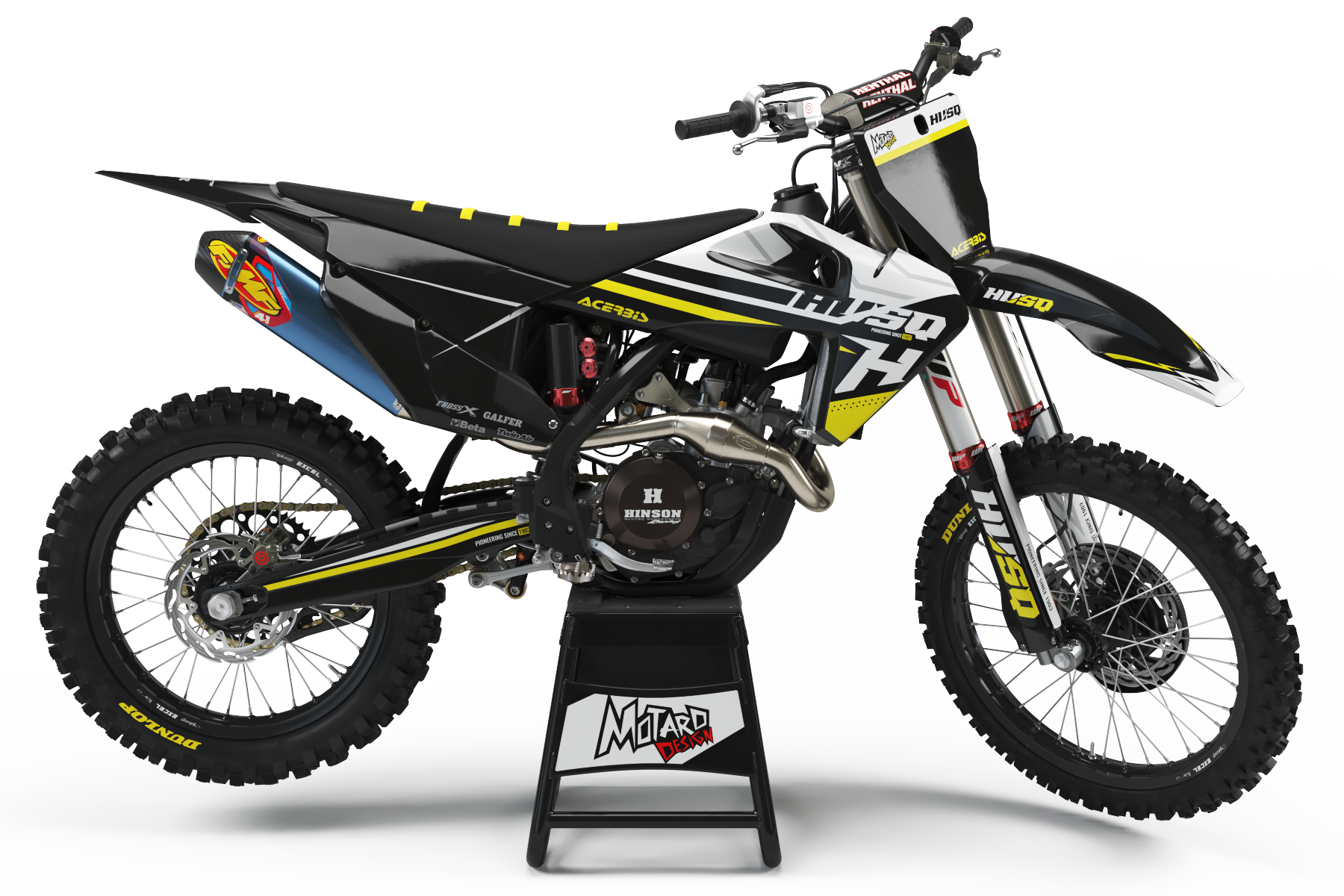 HUSQVARNA GRAPHICS KIT - SERENITY