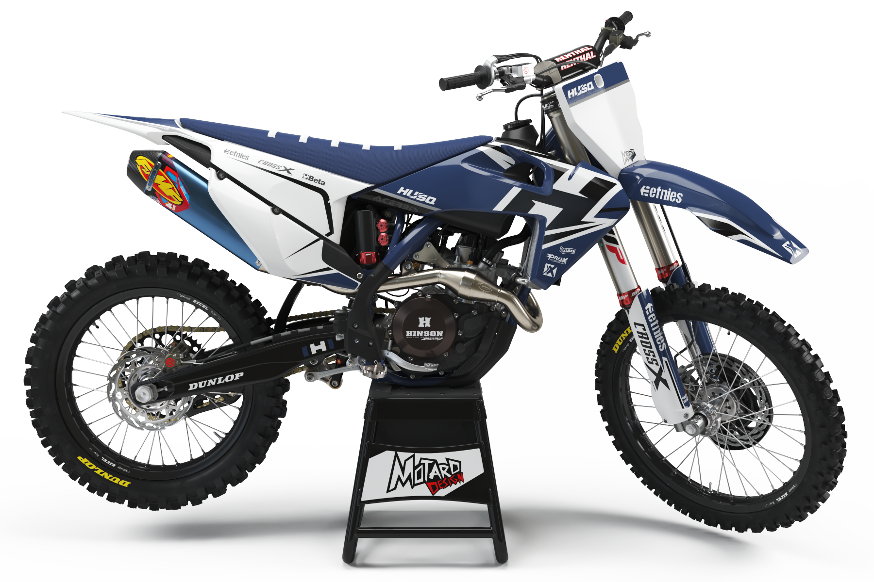 HUSQVARNA GRAPHICS KIT - ZONED