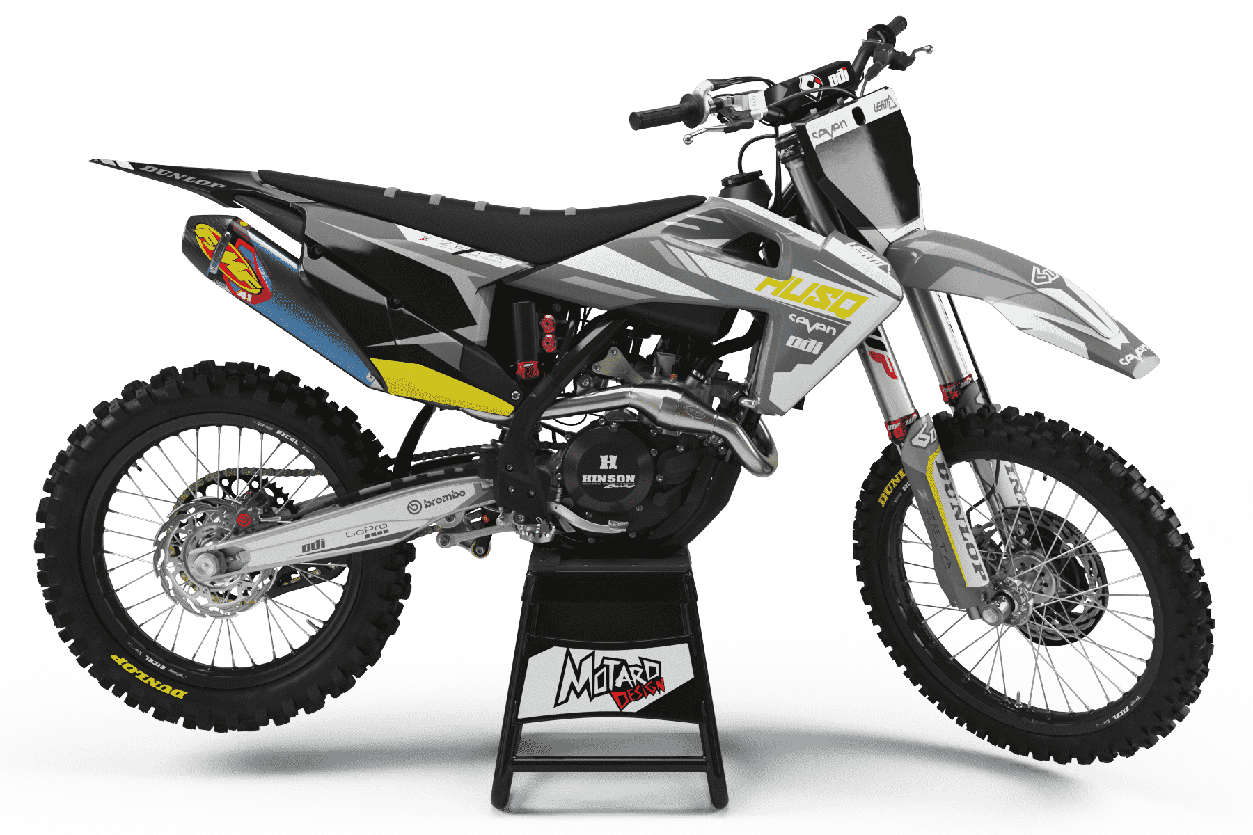 HUSQVARNA GRAPHICS KIT - SHADOW