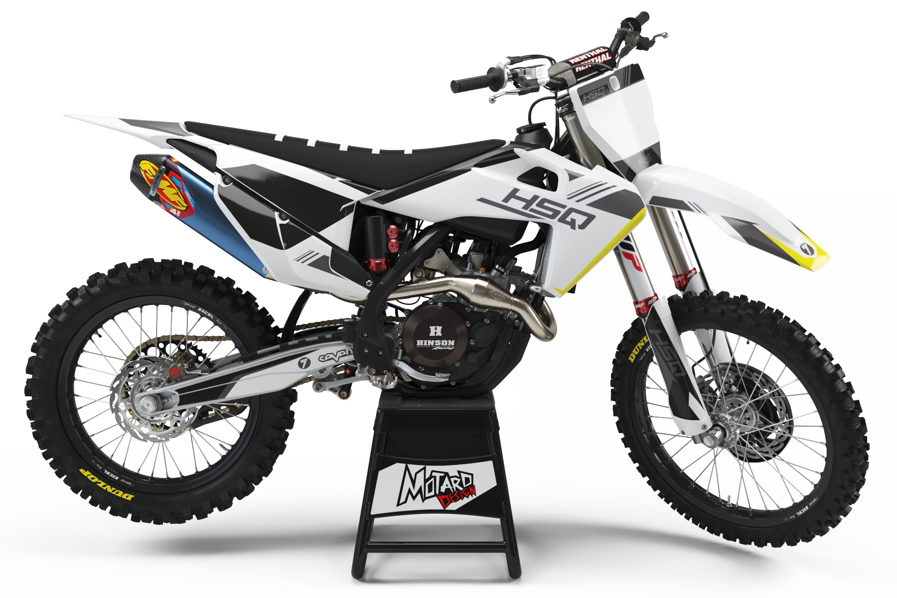 HUSQVARNA GRAPHICS KIT - SEVEN